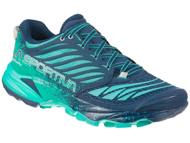 La Sportiva Akasha Shoes Dame Opal/Aqua